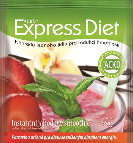 39483d6abec Kufřík s 5denní ketonovou dietou Express Diet obsahuje 20 hyperproteinových  jídel  4 chutná jídla na každý den