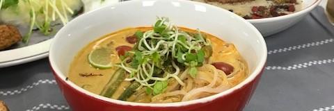 Thajské červené curry v jednom hrnci